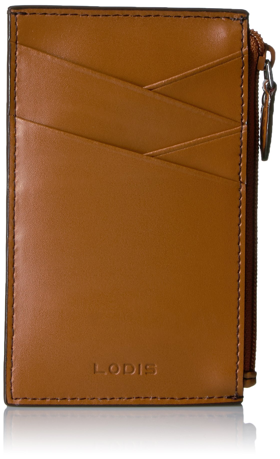 Lodis Women's Audrey Ina Card Case, Toffee, One Size by Lodis
