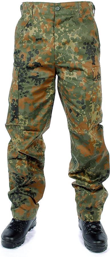 Brandit Slim Fit Shirt Army Camo Bundeswehr Camouflage Shirt Camo Bdu