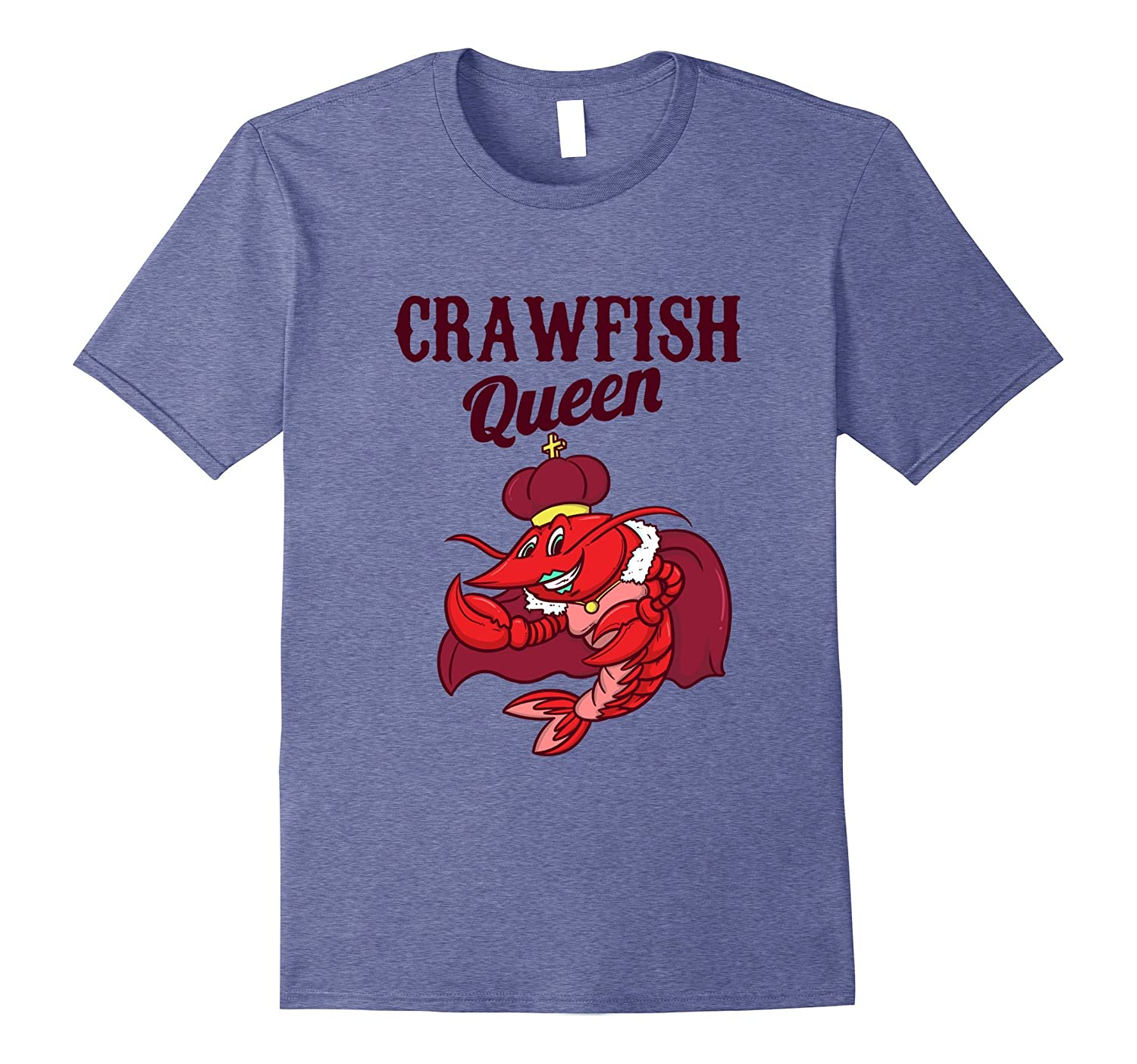 6b1ad210cb Crawfish T Shirt Crawfish Queen Funny Gift Shirt Cajun Boil-CD ...