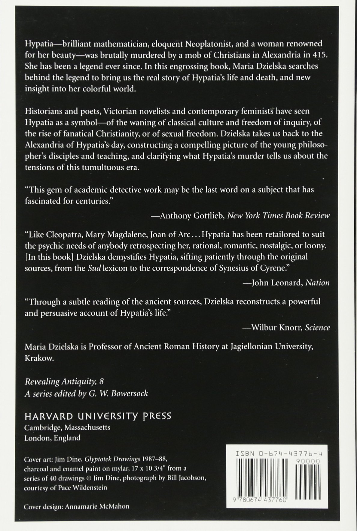 Hypatia of Alexandria (Paper) (Revealing Antiquity): Amazon.es: Maria Dzielska: Libros en idiomas extranjeros
