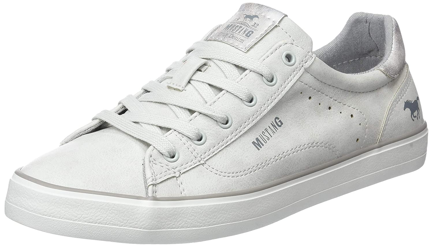 Mustang Ice 1272-301-203, Sneakers Sneakers Basses Femme, Mustang Ice Blanc Cassé (Ice) 9f8a17d - therethere.space