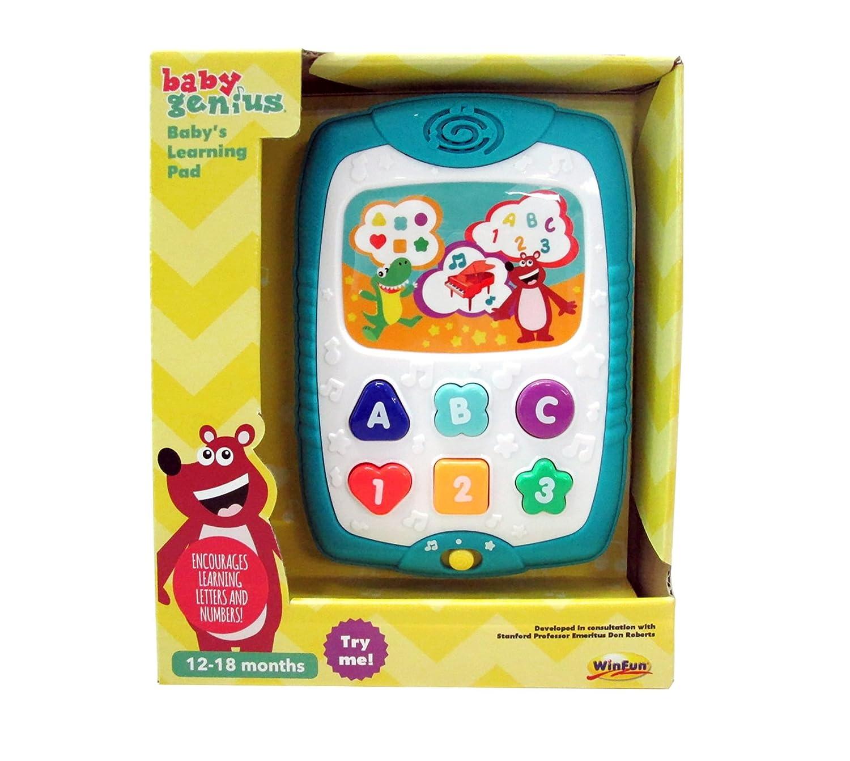 Baby Genius Learning Pad Tablet by Baby Genius   B00XPG4YPS