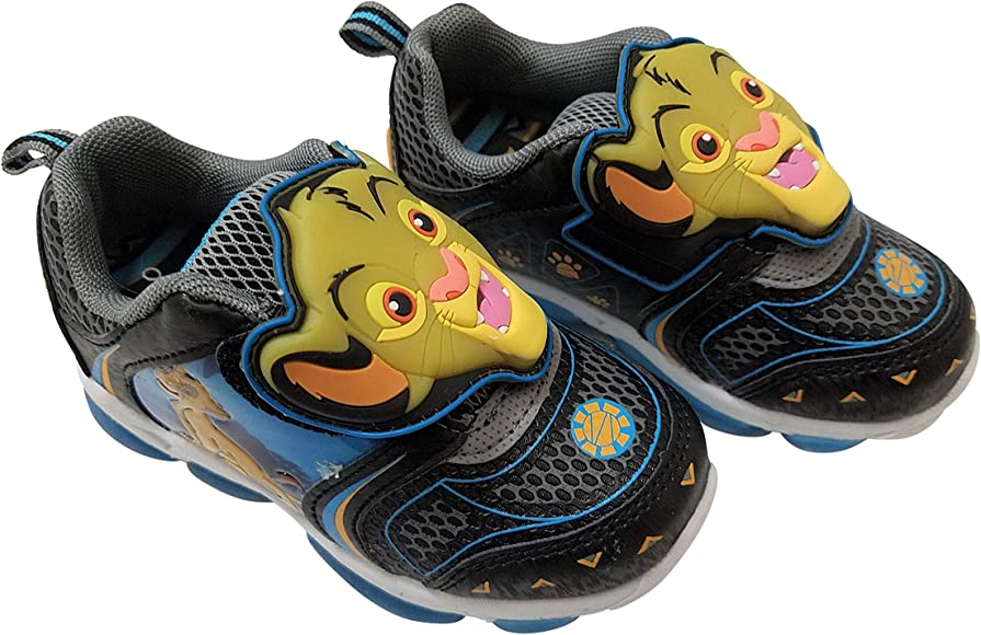 Lion King Boys Sneaker Shoes Light Up