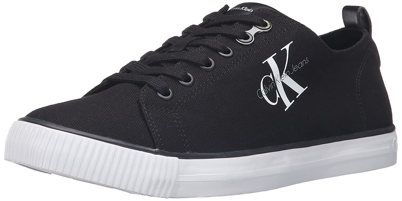 4d4ac1bc410 Amazon.com | CK Jeans Men's Arnold Canvas Fashion Sneaker, Black, 11 M US |  Fashion Sneakers