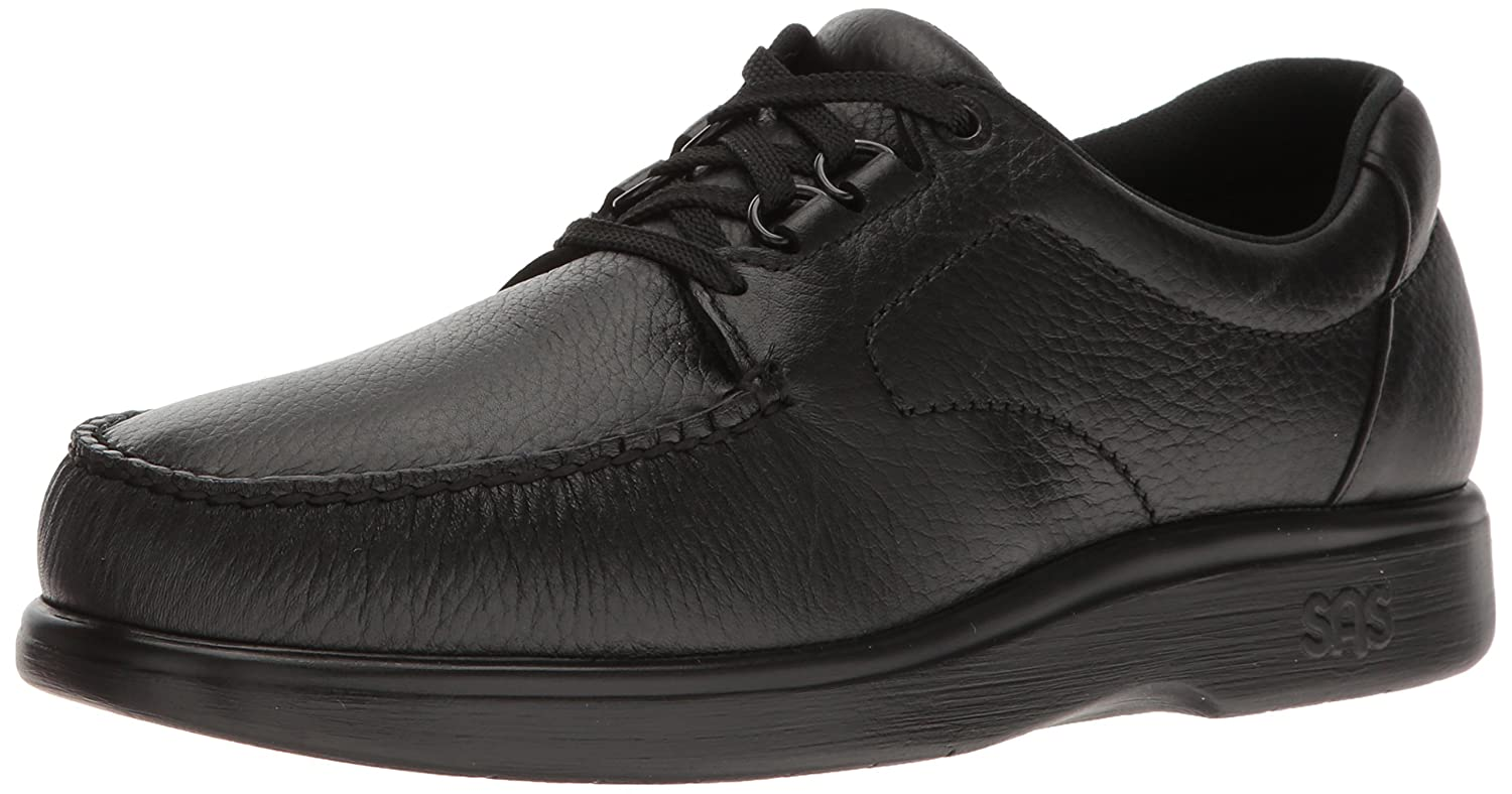 Men's SAS, Bouttime Lace up Shoes 8.5 WW - Double Wide (EE-3E) US|Black