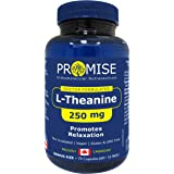 Promise L-Theanine 250mg, Promotes Relaxation, Nervous System, Energy, 75 CAPSULES