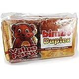 Bimbo Cookies Duplex Flavor (Chocolate & Vanilla) 2 Trays. 20 Pack of 6