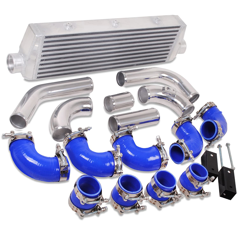 Aluminio aleación Intercooler de montaje frontal FMIC Kit: Amazon.es: Coche y moto