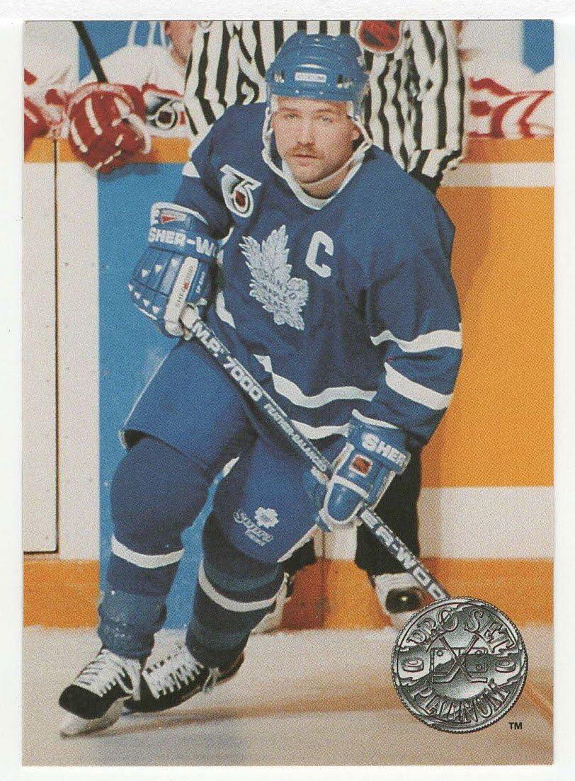 1991-92 Pro Set Platinum # 120 NM//MT Wendel Clark Hockey Card