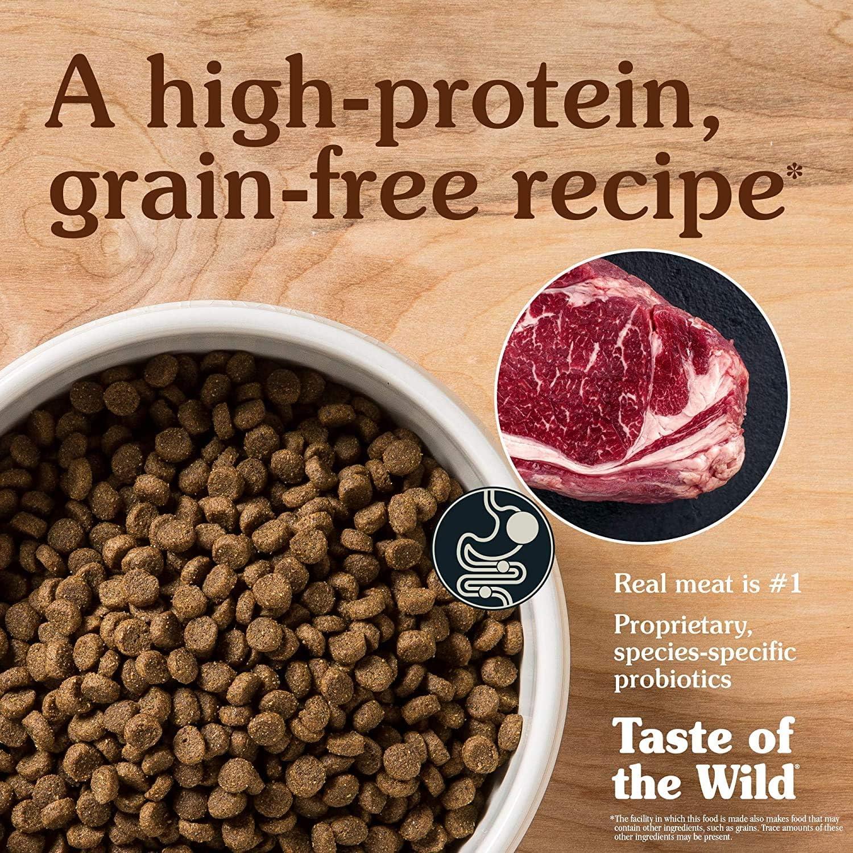 Taste Of The Wild pienso para cachorros con Bisonte y Venado asados 2kg High prairie puppy: Amazon.es: Productos para mascotas