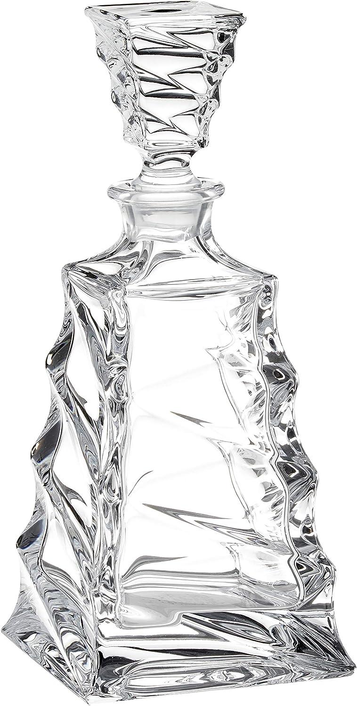 Crystaljulia 12942 Carafe /à whisky en cristal 750 ml