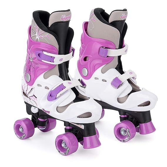 Osprey Kinder Quad Skates für Mädchen, Verstellbare Rollschuhe