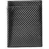 Wurkin Stiffs Carbon Leather RFID Money Clip Wallet