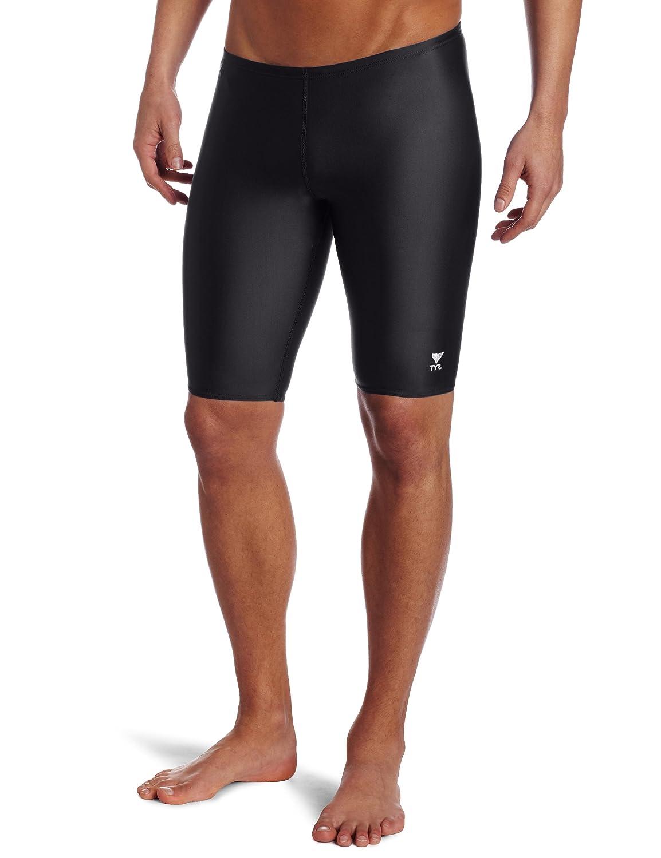 TYR Sport Mens Solid Jammer Swim Suit
