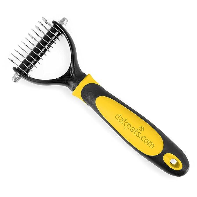 71 opinioni per DakPets Dematting Rake- Spazzola per capelli per cani e gatti- Pet pettine per