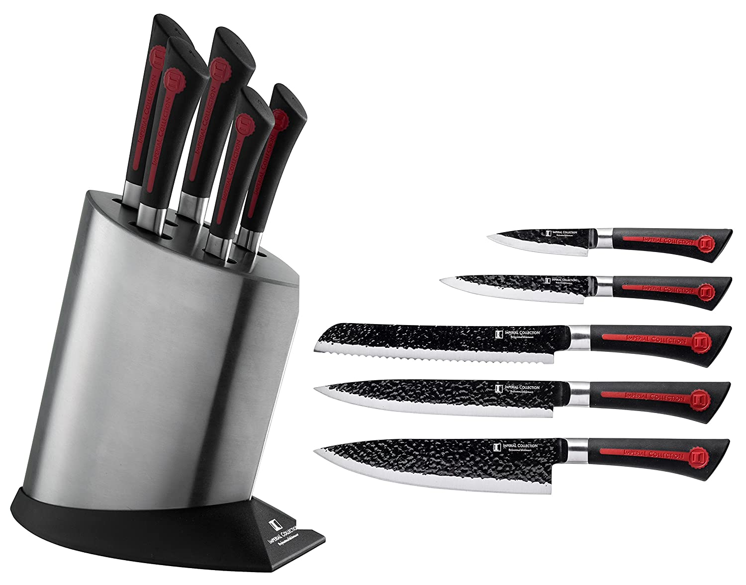 Stainless Steel Kitchen Cutlery Knife Set Knife Block