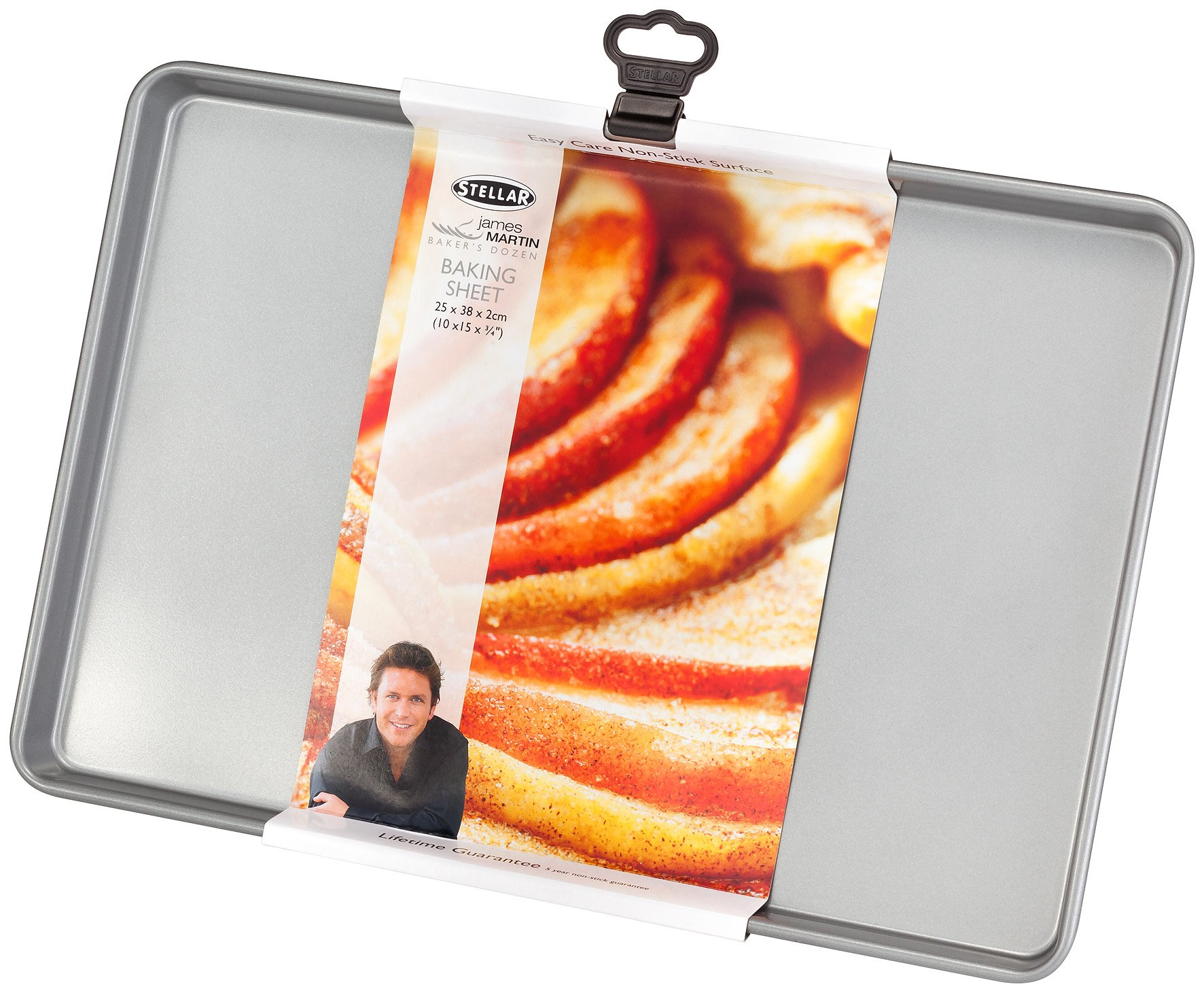 James Martin Bakers Dozen Stellar Bakeware 38cm/15'' Baking Sheet SJM54