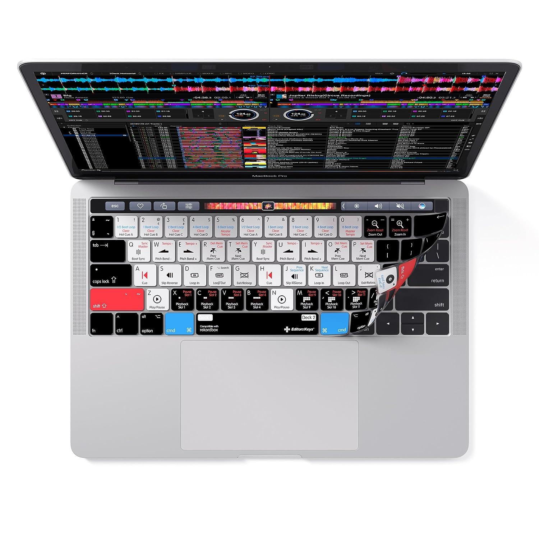 38,1/cm et Magic clavier sans fil 33/cm Rekordbox clavier Coque Compatible avec MacBook Pro avec barre de Touch