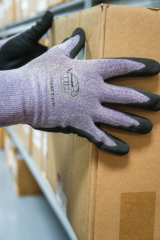 Large Xtreme Foam Technology Coated Gloves Global Glove 550XFT Tsunami Grip XFT