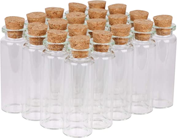 50pcs 16*12*12mm Small cork Small diameter glass stopper Tube plug