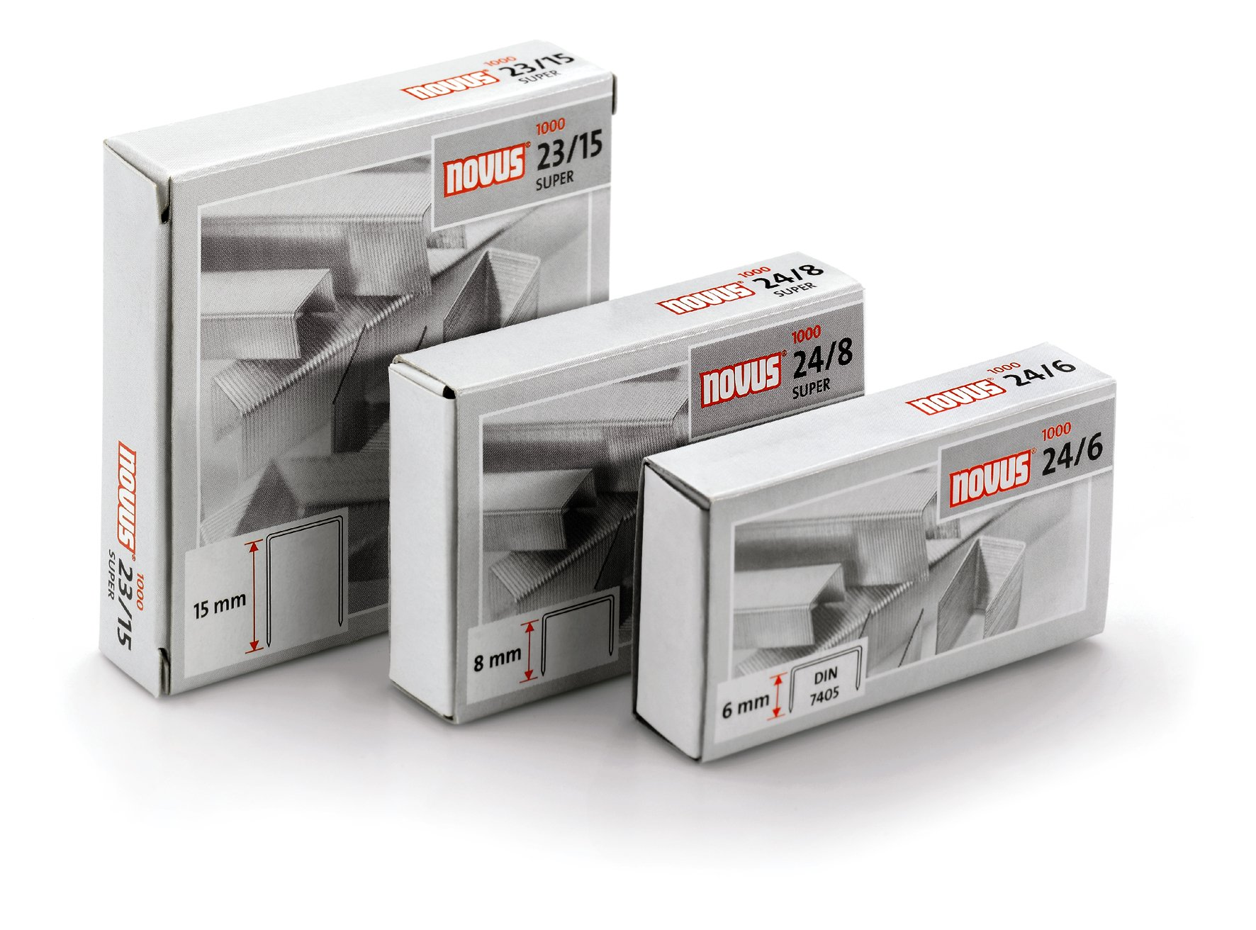 Staples: 24/6 DIN � package of1000 pcs by Novus (Image #2)