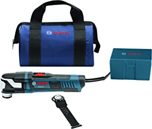 Bosch GOP55-36B StarlockMax Oscillating Multi-Tool Kit with Snap-In Blade Attachment