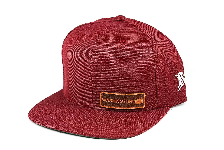 OSFA//Maroon Branded Bills Snapback Hat
