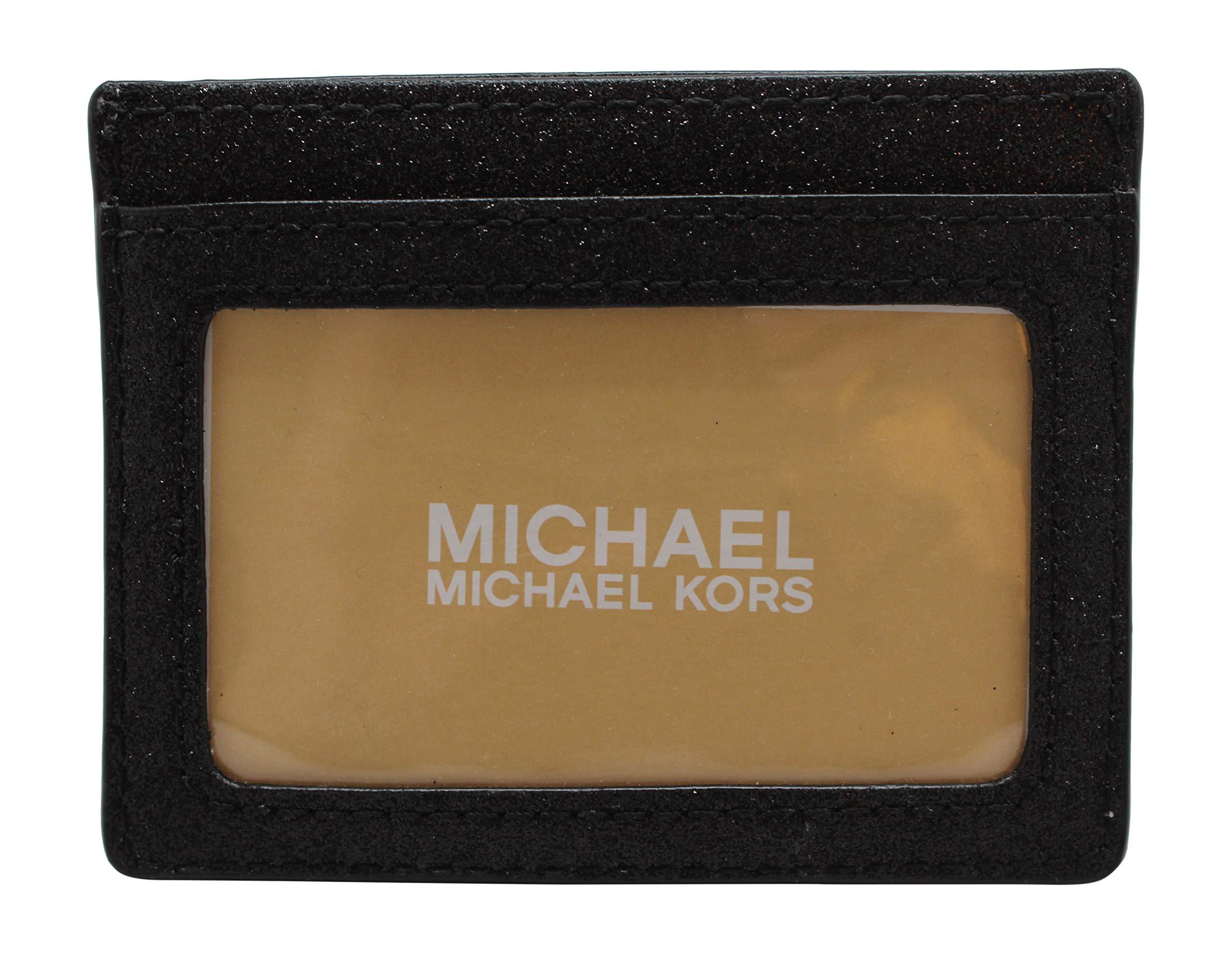 Michael Kors Giftables Large Card Holder Black Glitter by Michael Kors (Image #2)