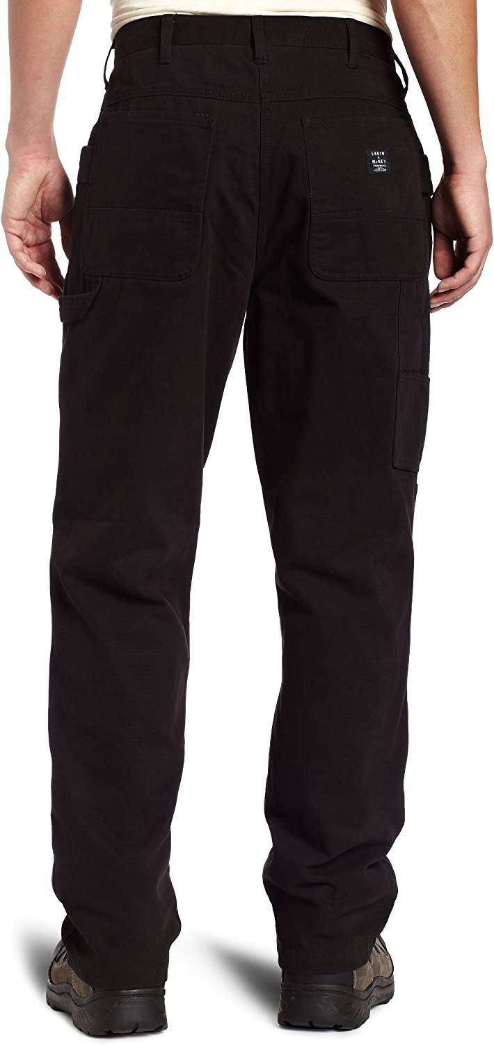 34x34 Key Apparel Mens Premium Relaxed Fit Duck Dungaree Black