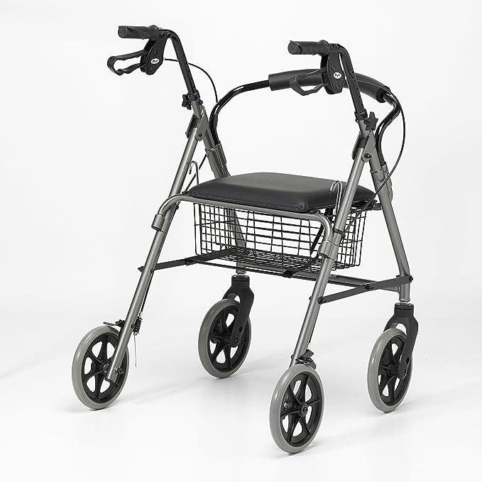 Homecraft - Andador con frenos y 4 ruedas: Amazon.es: Salud y ...