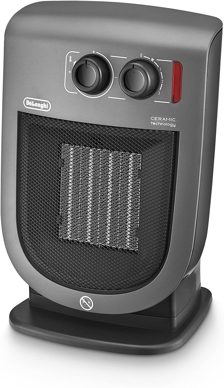 Amazon Com Delonghi Ceramic Heater 220 Volts Not For Usa European Cord 2000 Watts Silver Riscaldamento Kitchen Dining