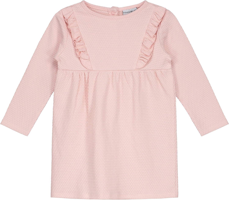 Pr/énatal M/ädchen Kleinkind Kleid mit R/üschen Rosa