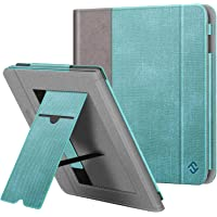 Fintie hoes voor Kobo Libra H2O 7-inch eReader - Premium PU Leather Stand Case Protective Cover met Card Slot, Handband…
