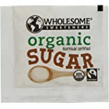 Wholesome Sweeteners Fair Trade Organic Sugar, 500 Count