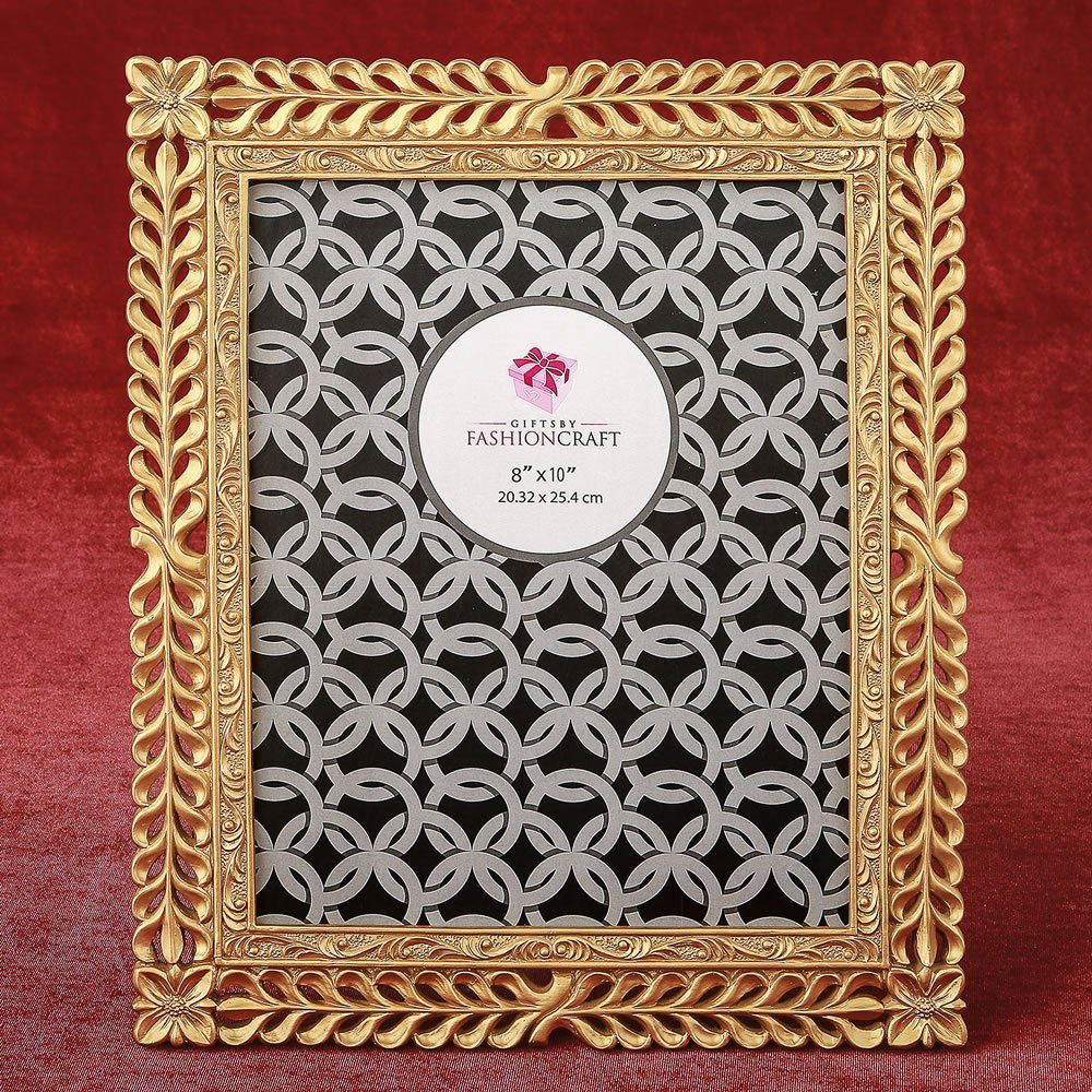 Magnificent Gold Lattice 8 x 10 frame from gifts by fashioncraft 12PK