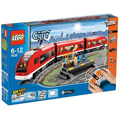 LEGO City Passenger Train 7938: Toys & Games