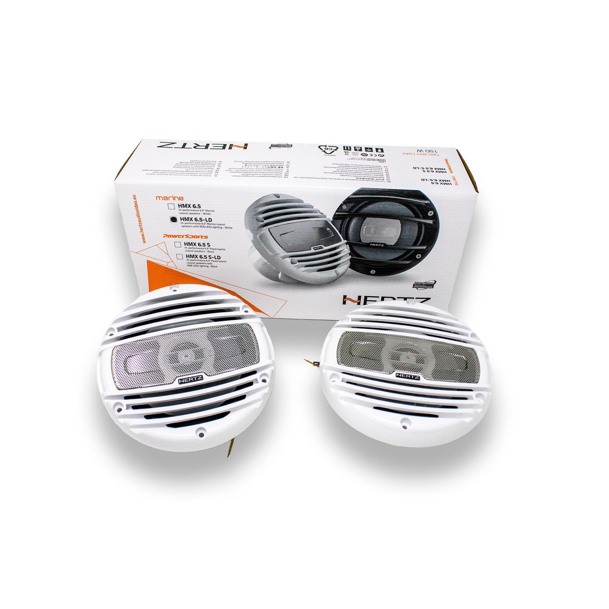 Hertz HMX-6.5LD 6.5'' 4 Ohm Marine Coaxial Speakers