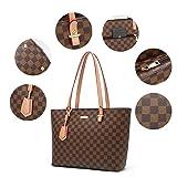 ELIMPAUL Women Fashion Handbags Tote Bag Shoulder