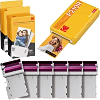 KODAK Mini 2 Retro Portable Instant Photo Printer, Wireless Connection, Compatible: iOS, Android & Bluetooth, Real Photo…