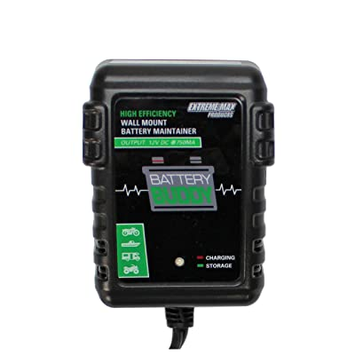 Extreme Max 1229.4029 High Efficiency Wall Mount Battery Maintainer: Automotive