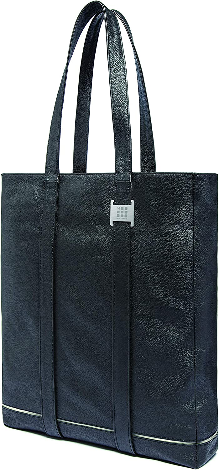 Moleskine Lineage Leather Tote Bag, Black