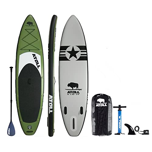 "Atoll 11'0"" Foot Inflatable Stand up Paddle Board"