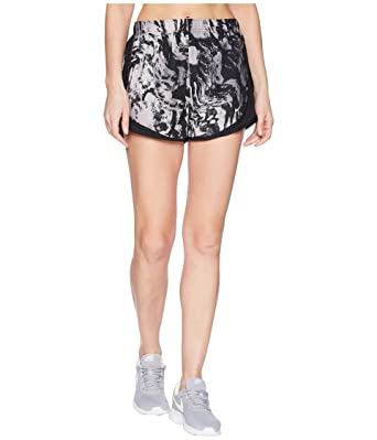 3f17c210c Nike Women's Dry Tempo Print Shorts Black/Black/Black/Wolf Grey X-