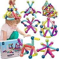 36 قطعة العاب بناء مغناطيسية، العاب مغناطيسية، العاب تعليمية، مكعبات مغناطيسية، مجموعة العاب تكديس للاطفال، ألعاب بناء…