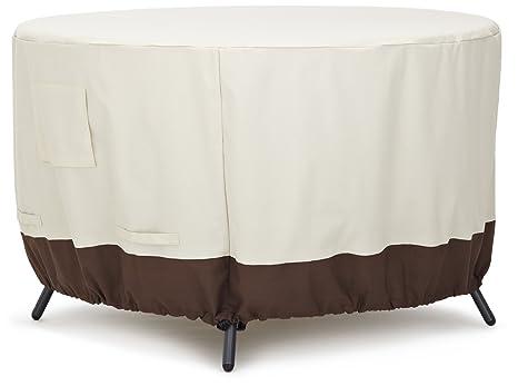 AmazonBasics Copertura per tavolo da pranzo rotondo, 120 cm: Amazon ...