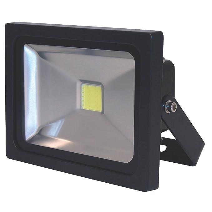 Smartwares 10.054.05-Proyector LED para Exterior, luz Blanca ...