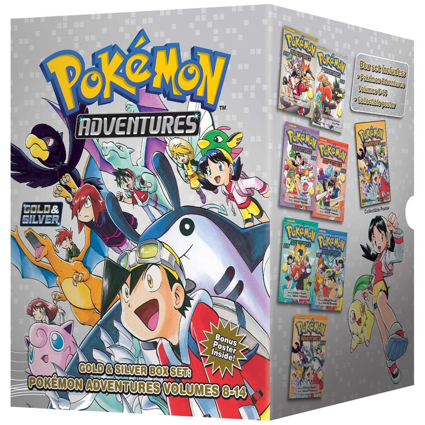 Pokémon Adventures Gold & Silver Box Set (set includes Vol. 8-14) (Pokemon) by VIZ Media - Children's