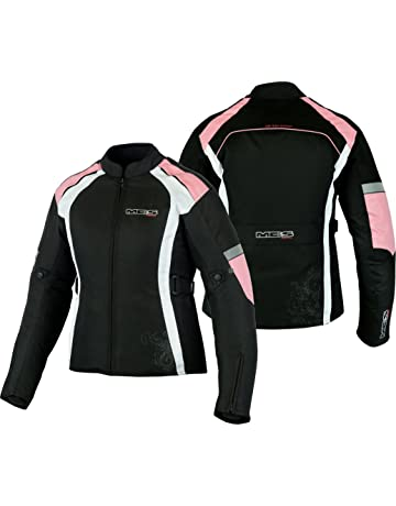 694e8ff207a68 MBSmoto - Chaqueta de Motociclismo para Mujer (Impermeable
