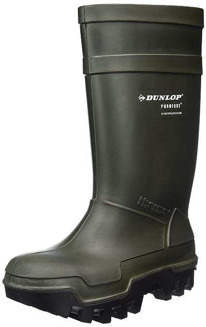 vari colori eb851 8cbe8 Dunlop Protective Footwear (DUO1K) Dunlop Purofort Thermo+, Stivali  Antinfortunistici Uomo