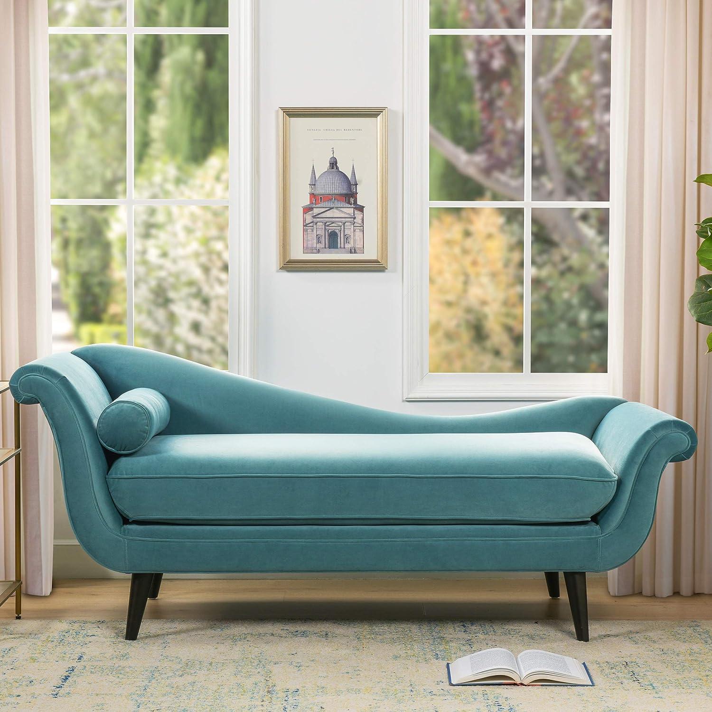 Sandy Wilson Home Kai Chaise Sofa, Arctic Blue